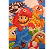 It's a Mario! Photographic Print