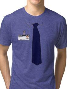 Dwight K. Schrute Uniform Tri-blend T-Shirt