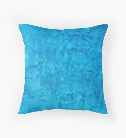 Beautiful Blues Throw Pillow
