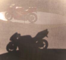 silhouette of Honda N R  by Rexcharles