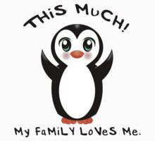 Family Loves Me ~ Baby Penguin Kids Clothes