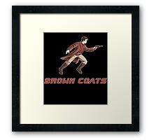 Browncoats or BladeRunners Framed Print