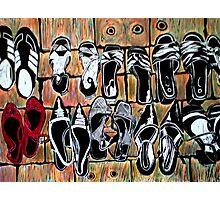 Fav Shoes Photographic Print