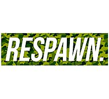 Respawn Camo Photographic Print