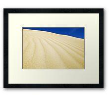 SA Dune Framed Print