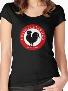 Black Rooster New York Chianti Classico  Women's Fitted Scoop T-Shirt