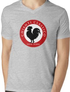 Black Rooster New York Chianti Classico  Mens V-Neck T-Shirt