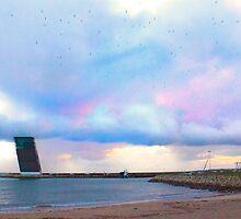 torre de controlo. traffic tower by terezadelpilar~ art & architecture