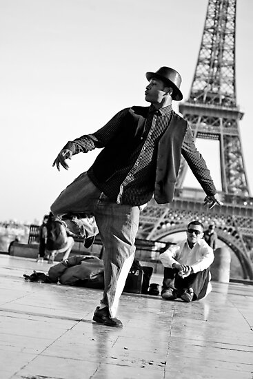 Slyde the Artist 01 (in Paris) by Jean M. Laffitau
