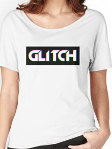 Glitch Women's Relaxed Fit T-Shirt