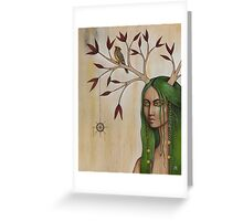 Evadne Greeting Card