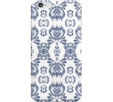 Mormor Damask - White iPhone Case/Skin