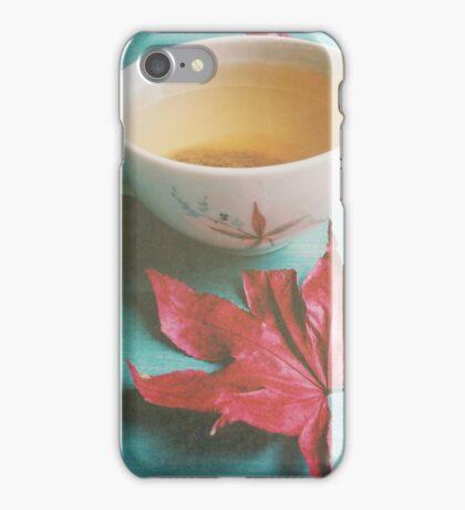 Retro Tea iPhone Case/Skin