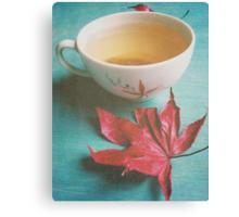 Retro Tea Canvas Print