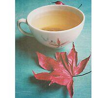 Retro Tea Photographic Print