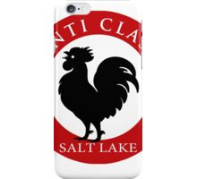 Black Rooster Salt Lake City Chianti Classico  iPhone Case/Skin