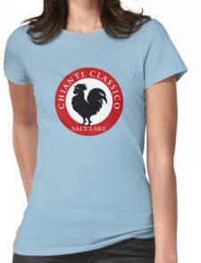 Black Rooster Salt Lake City Chianti Classico  Womens Fitted T-Shirt