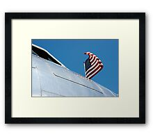 Flying Proud Framed Print