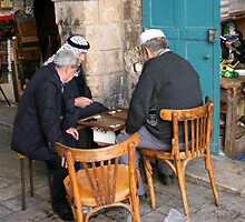 The Backgammon Players by Segalili