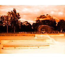 Almost Invisible - Double Take K-Grind Photographic Print