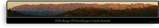 Elder Range, Flinders Ranges by Helen Simpson