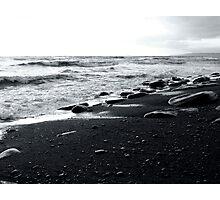 Wet Stones Photographic Print