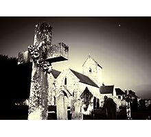 The Cross at St Lawrence Photographic Print