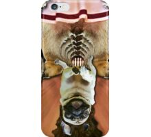 the dude lord pug iPhone Case/Skin