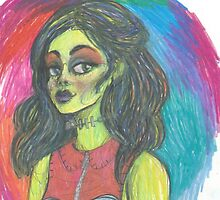 Psychedelic Frankie by Kacey Gambrell