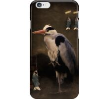 Heron's home iPhone Case/Skin