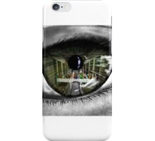 Through the eye of the beholder iPhone Case/Skin