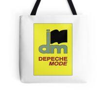 Depeche Mode : DM Logo from 1986 official t-shirt Tote Bag