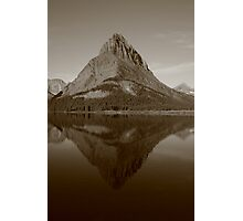Swiftcurrent Lake Glacier National Park, Montana Photographic Print
