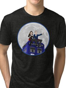 Clara and the Doctor Tri-blend T-Shirt