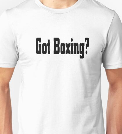 Boxing Unisex T-Shirt