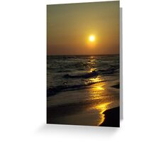 Serenity Surrounds Us Greeting Card