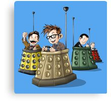 Bump the Doctor Canvas Print