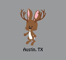 Cute Jackalope -  Austin, Texas by Eggtooth