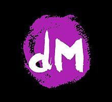 Depeche Mode : Dm logo 1993 by Luc Lambert