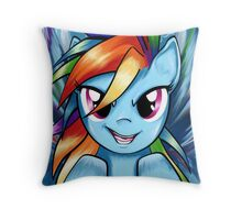 Rainbow Dash Throw Pillow