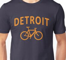 I Bike Detroit Unisex T-Shirt