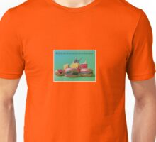 #FastFoodTurfWar by Tim Constable Unisex T-Shirt
