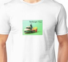 "Hamburger Hill from the series ""Fast Food Turf War"" by Tim Constable Unisex T-Shirt"