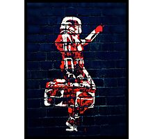 Stormtroopers like hip hop too! Photographic Print