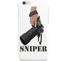Sniping - photographer-style! iPhone Case/Skin