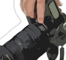 Sniping - photographer-style! Sticker