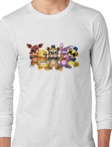 Five Nights of Kawaii Long Sleeve T-Shirt