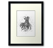 Flowing Serenity Framed Print