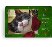 UnTroubled Peace on Earth Canvas Print