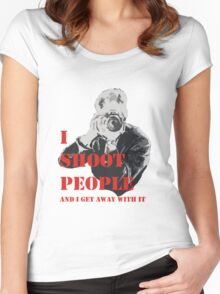Shooter Women's Fitted Scoop T-Shirt